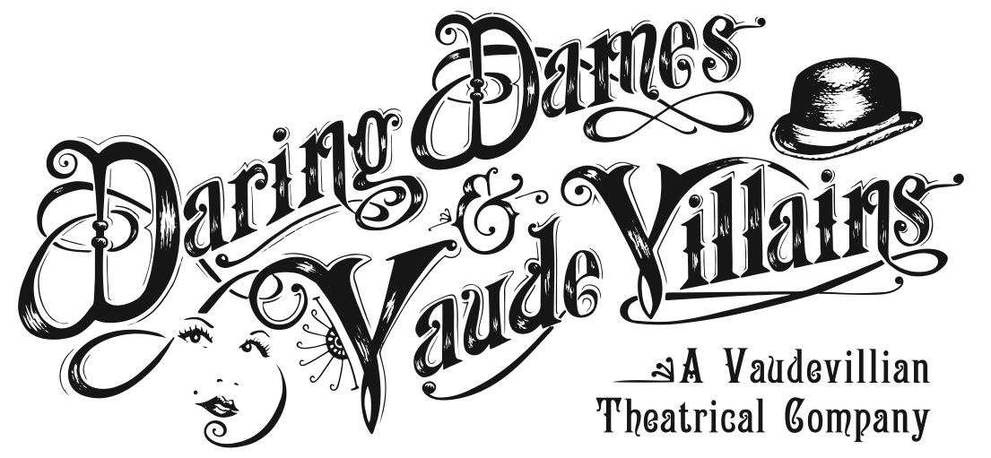 Daring Dames and Vaude Villains logo