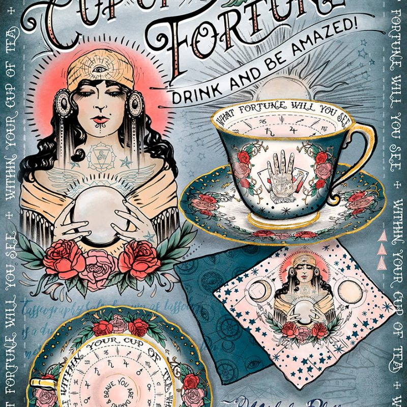 Cup of Fortune Tea Set