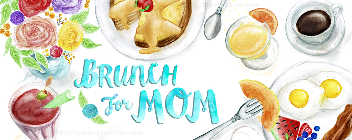 Breakfast + Lunch + Drinks + Coffee + Flowers = Brunch Goodness