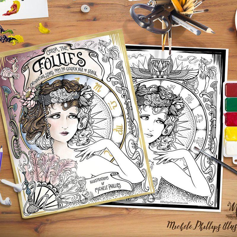 Follies Coloring Book