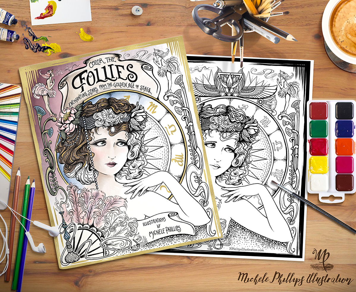 Follies Coloring Book