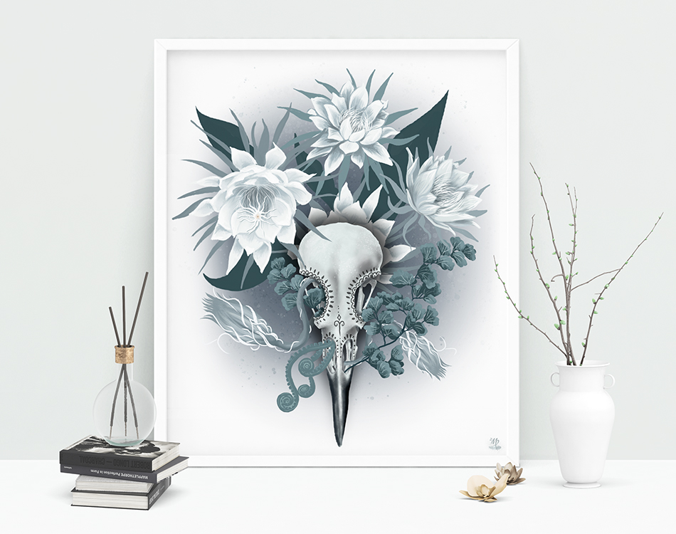 Night Bloomer Art Print