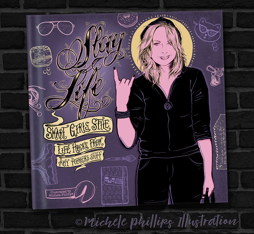 Slay Life – Smart Girls Style, Illustration by M Phillips