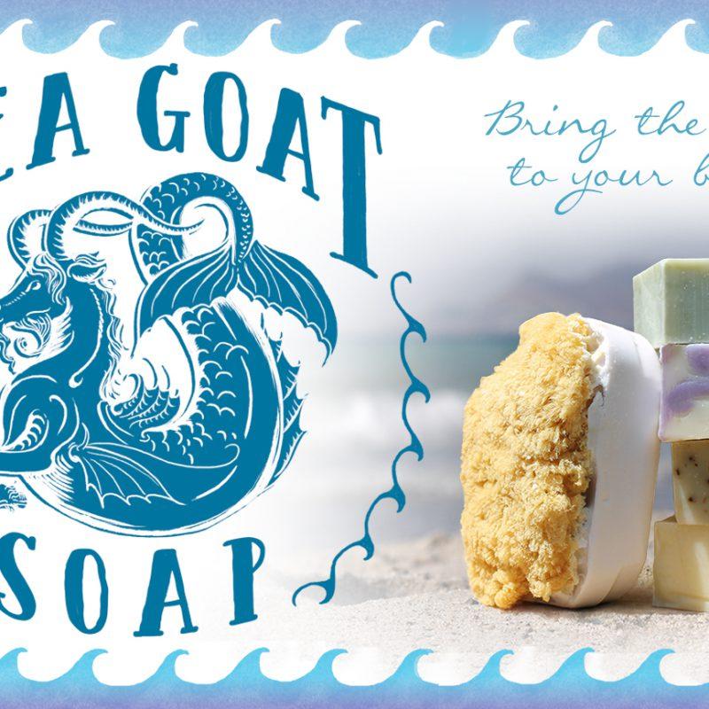 Sea Goat Soap Logo